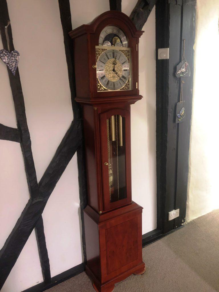Lavenham – Yew Tree Grandfather Clock – SOLD