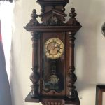 Vintage wall clock (sold)